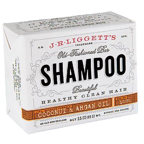 J.R. Liggett's Virgin Coconut & Argan Shampoo Bar