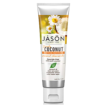 Jason Coconut Soothing Chamomile Toothpaste