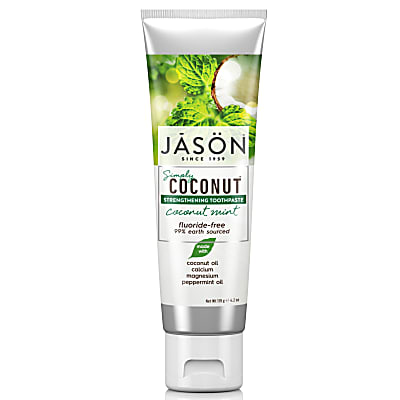 Jason Coconut Mint Strengthening Toothpaste