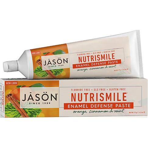 Jason Toothpaste NutriSmile with Orange, Cinnamon & Mint - 120g