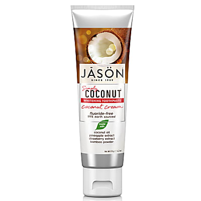 Jason Coconut Cream Whitening Toothpaste