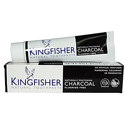 Kingfisher Charcoal Naturally Whitening Toothpaste