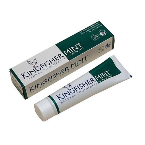 Kingfisher Mint Toothpaste - Fluoride Free