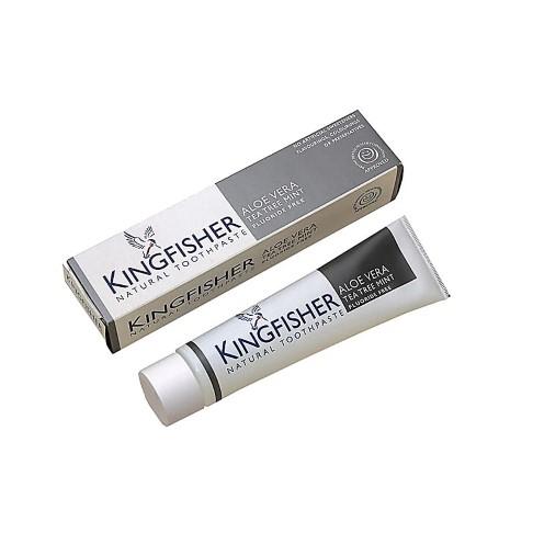 Kingfisher Aloe Vera Tea Tree & Mint - Fluoride Free
