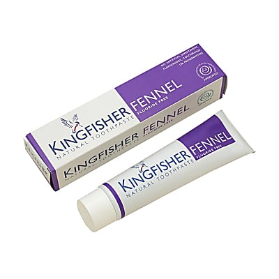 Kingfisher Fennel Toothpaste - Fluoride Free
