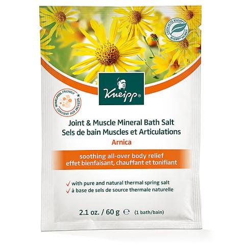 Kneipp Arnica Joint & Muscle Mineral Bath Salts (60g sachet)