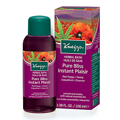 Kneipp Pure Bliss Red Poppy & Hemp Aroma Bath