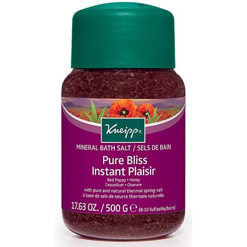 Kneipp Pure Bliss Red Poppy & Hemp Bath Salts