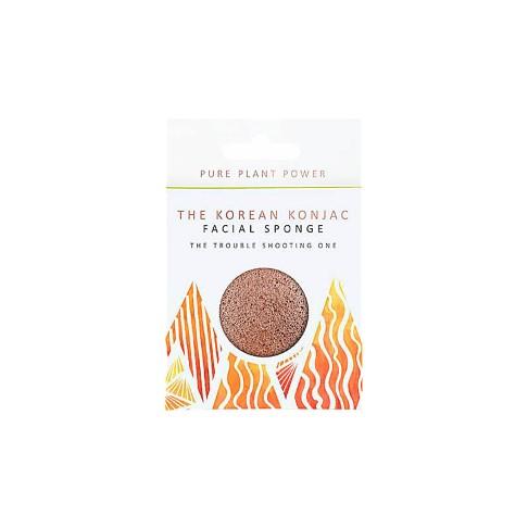 Konjac Elements Facial Sponge - Fire.  The Trouble Shooting One
