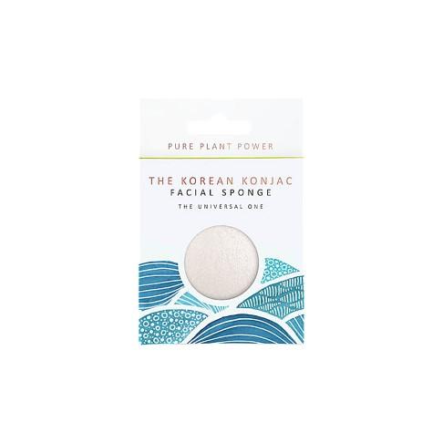 Konjac Elements Facial Sponge - Water.  The Universal One
