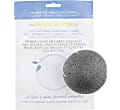 Konjac Facial Puff Sponge with Bamboo Charcoal - for oily & acne prone skin