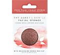 Konjac Facial Puff Sponge with French Red Clay - for dry & mature skin