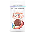 Konjac Mythical Mermaid Sponge Box with Hook - Pink Clay