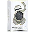 Konjac Mini Rainforest Pore Refiner Bamboo Charcoal - Sloth