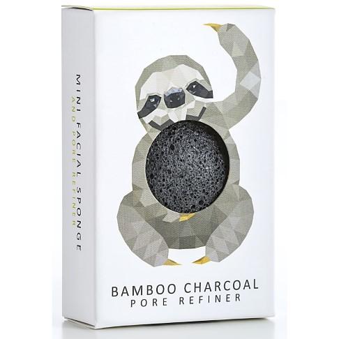Konjac Mini Rainforest Pore Refiner Bamboo Charcoal - Sloth