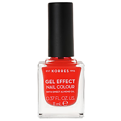 Korres Gel Effect Sweet Almond Nail Colour - 45 Coral