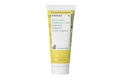 Korres Basil Lemon Body Milk - 40ml Travel Size