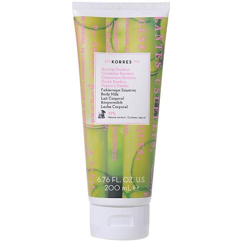 Korres Natural Cucumber Bamboo Body Milk