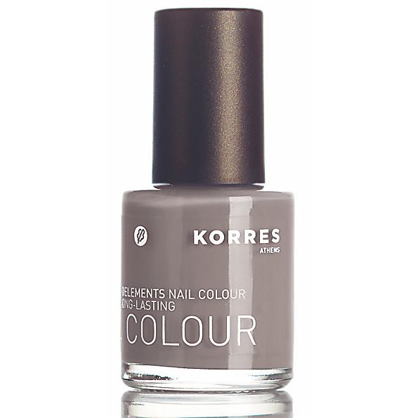 Korres Light Grey Nail Polish