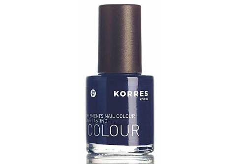 Korres Midnight Blue Nail Polish