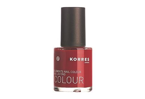 Korres Pure Red Nail Polish
