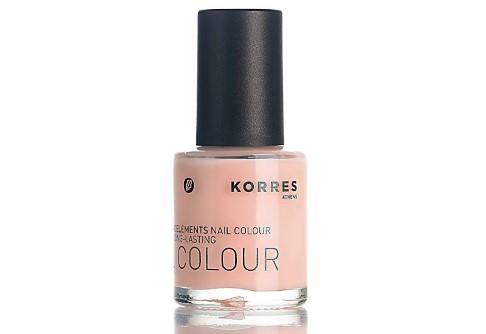 Korres Pastel Rose Nail Polish