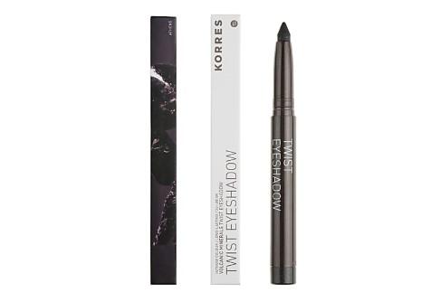 Korres Twist Eyeshadow 24hr wear - Metal Black
