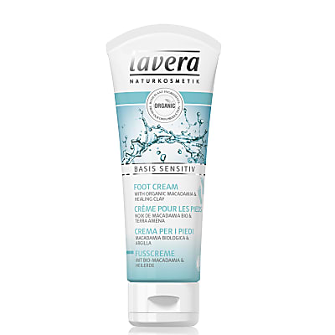 Lavera Basis Sensitive Organic Foot Cream