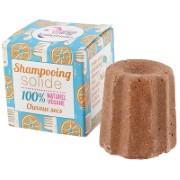 Lamazuna Orange Solid Shampoo Bar - (dry hair)