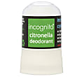 Incognito Natural Crystal Citronella Deodorant