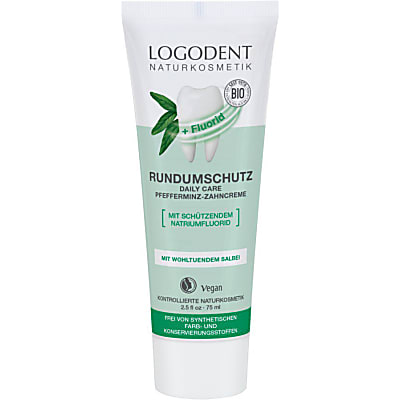 Logona Herbal Dental Gel Peppermint