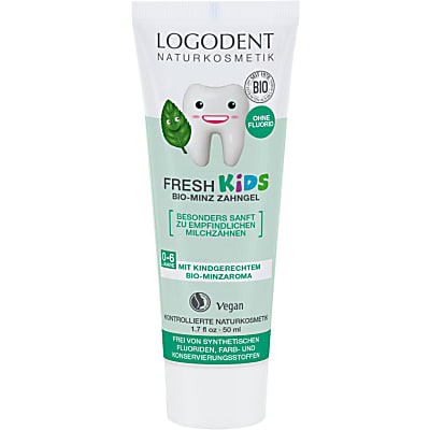 Logona Kids Herbal Dental Gel Spearmint
