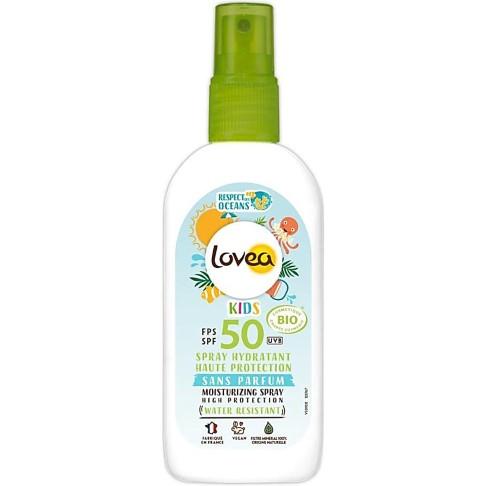 Lovea Organic Kids Sun Screen Spray SPF50