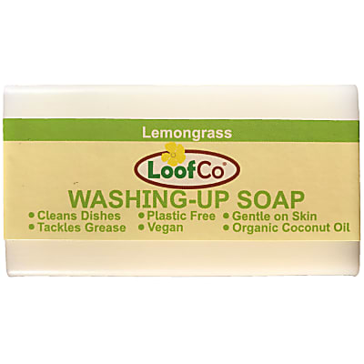 LoofCo Lemongrass Dishwashing Soap Bar