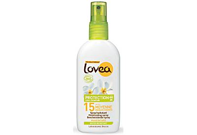 Lovea Natural Sunscreen Spray SPF15