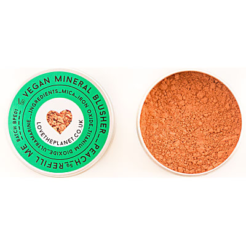 Love the Planet Vegan Mineral Blusher - Peach