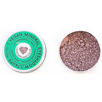 Love the Planet Vegan Mineral Eyeshadow - Taupe