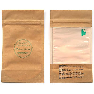 Love the Planet Vegan Mineral Foundation Refill Pouch - Honey