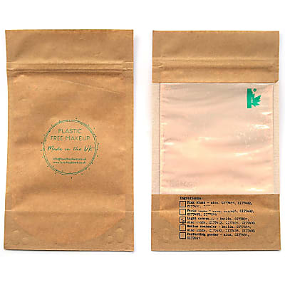 Love the Planet Vegan Mineral Foundation Refill Pouch - Pebble