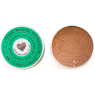 Love the Planet Vegan Mineral Foundation - Sunny