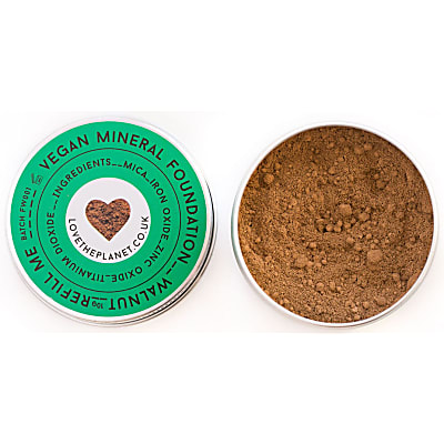 Love the Planet Vegan Mineral Foundation - Walnut