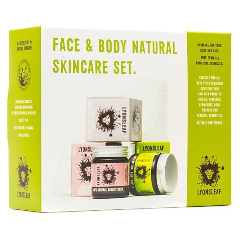 Lyonsleaf Face and Body Natural Skincare Set