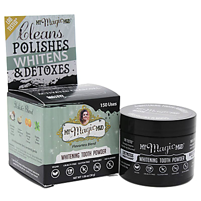 My MagicMud Activated Charcoal Tooth Powder
