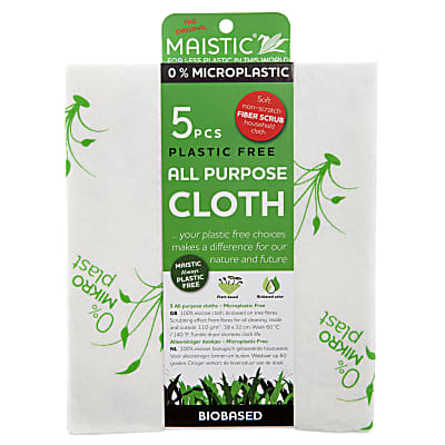 Maistic Micro Plastic Free All Purpose Cloth - 5 pack