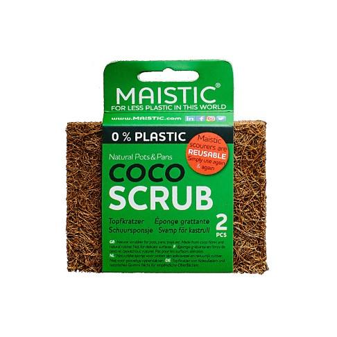Maistic Coco Scrubber (2 pack)