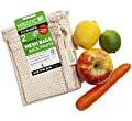 Maistic Organic Cotton Fruit 'n' Veg Reusable Mesh Bag - 2 Bags (S & M size)