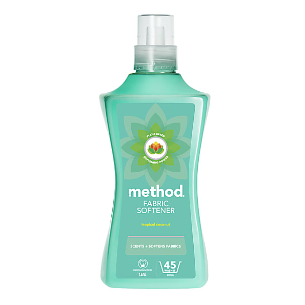 Method Fabric Softener - Tropical Coconut 1 58 L (45 washes)