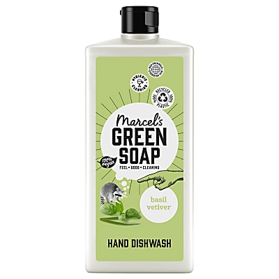 Marcel's Green Soap Washing Up Liquid - Basil & Vetiver Grass