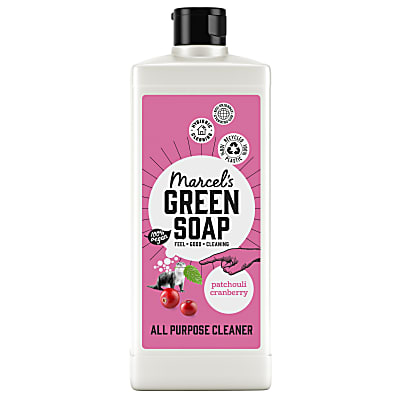 Marcel's Green Soap All Purpose Cleaner Patchouli & Cranberry