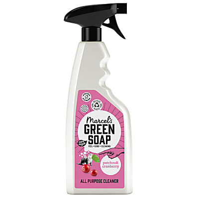 Marcel's Green Soap All Purpose Spray Patchouli & Cranberry